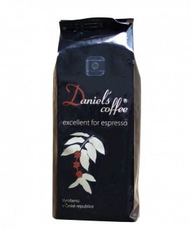 Daniels coffee 100% arabica - excellent for espresso 1 kg
